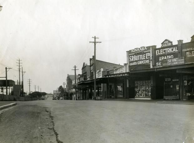Railway Parade, Carlton 1936